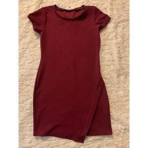 🌹VALENTINE DRESS🌹 bodycon burgundy dress